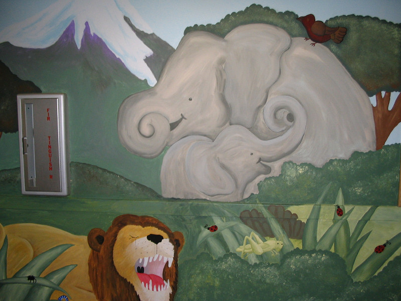 Childrens Department Mural
